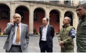 El presidente de México, Andrés Manuel López Obrador, se reunió con su gabinete de seguridad.