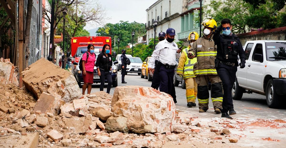 Suman 10 muertes y 500 viviendas dañadas en Oaxaca por el sismo
