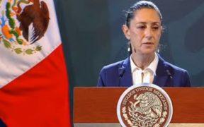 La jefa de Gobierno, Claudia Sheinbaum, presentó las cifras de seguridad de la CDMX. Foto: YouTube