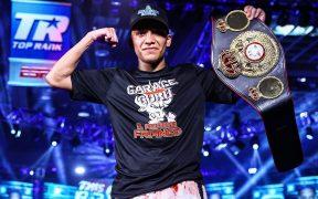 Joshua Franco, nuevo campeón de peso supermosca de la AMB.