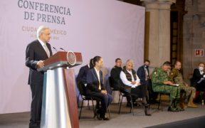 El presidente dijo que la construcción del Tren Maya sigue. Foto: Gobierno de México