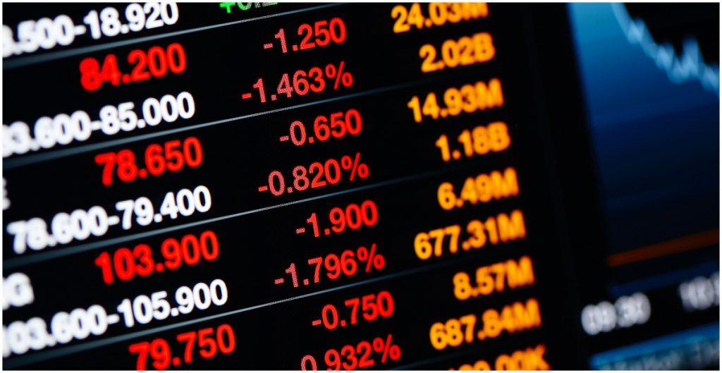 La Bolsa Mexicana de Valores (BMV) reportó una caída mensual de 1.85%
