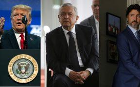 Se espera que la reunión entre López Obrador, Trump y Trudeau se lleve a cabo los primeros días de julio. Foto: AP/Reuters