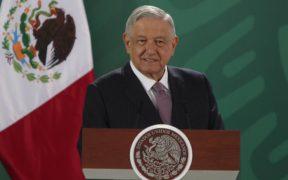 El presidente Andrés Manuel López Obrador en su conferencia en Morelia. Foto: Gobierno de México