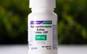 Fármaco hidroxicloroquina