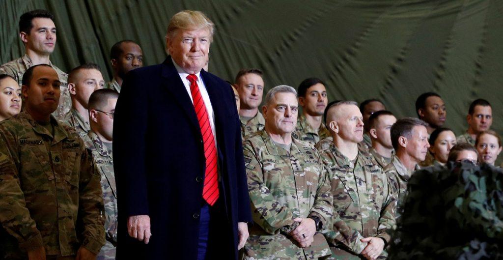 Trump no fue informado de las recompensas contra tropas de EU, afirma la Casa Blanca