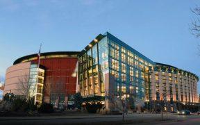 El Pepsi Center es la casa de los Nuggets de Denver.