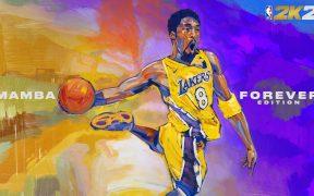 Kobe Bryant aparecerá en la portada de la edición Mamba Forever de NBA 2K21.