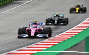 'Checo' Pérez tuvo el tercer mejor tiempo en los ensayos libres del GP de Austria. (Foto: @RacingPointF1)