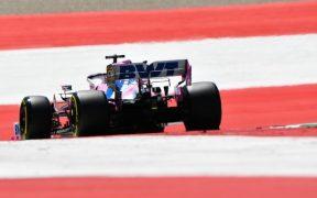 Checo Pérez saldrá en la tercera línea en el Gran Premio de Austria.