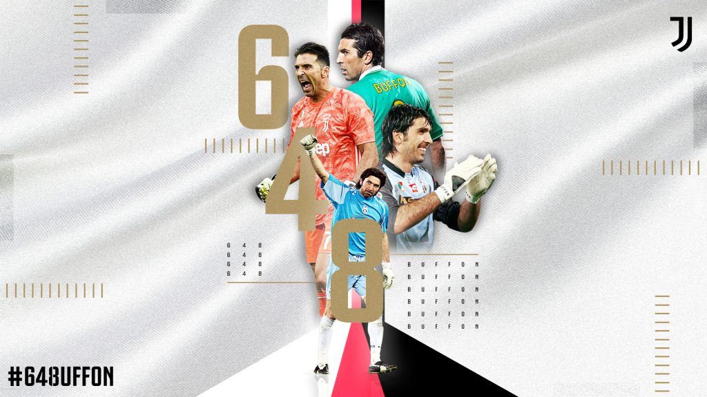 La Juventus festejó el récord de Buffon de 648 partidos en Serie A. (Foto: Juventus FC)