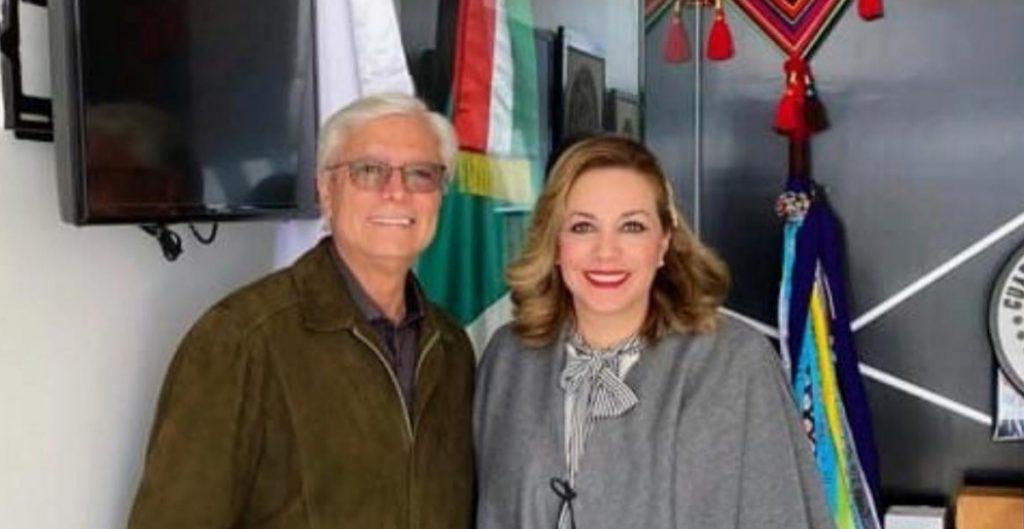 Jaime Bonilla y Zulema Adams