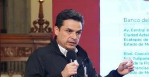 Zoé Robledo, titular del IMSS. Foto: Gobierno de México