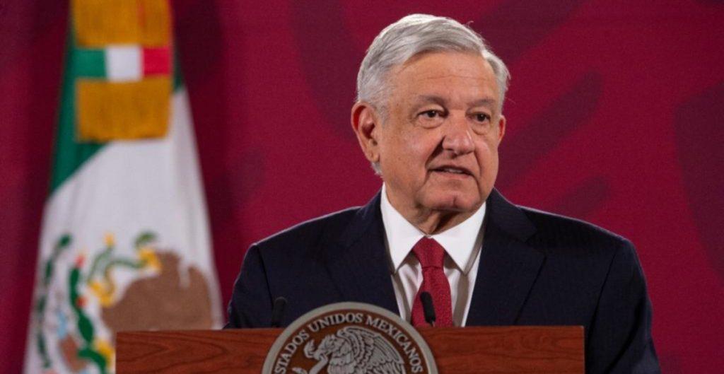 El presidente durante su conferencia de prensa. Foto: Cortesía