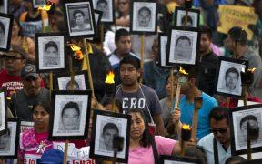 Restos de uno de los estudiantes fue identificado. Foto: AP