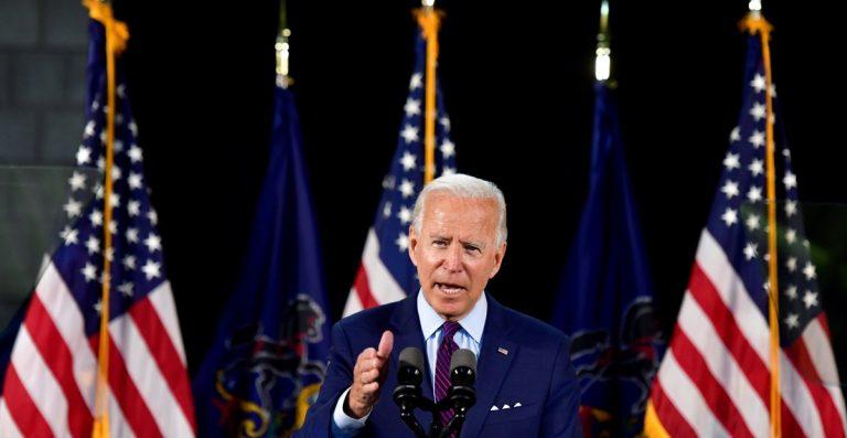 Biden afirma que EU regresará a la OMS si él gana las elecciones