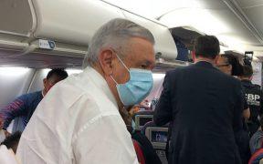 El presidente Andrés Manuel López Obrador llega a Washington D.C.