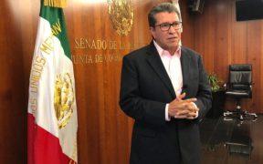Monreal Ávila dijo que la iniciativa busca reformar el artículo 17 de la Constitución Política. Foto: Cortesía