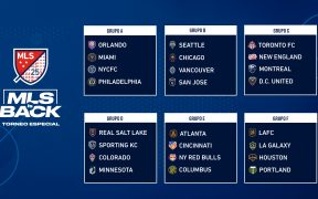 La MLS anunció la nueva conformación de los grupos del torneo de Orlando.
