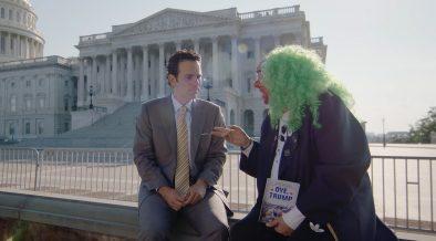 Brozo y Loret en Washington