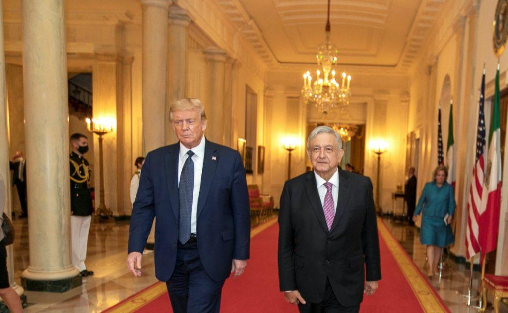 "AMLO, un ""gran admirador"" de Trump, ya extraña al presidente estadounidense"