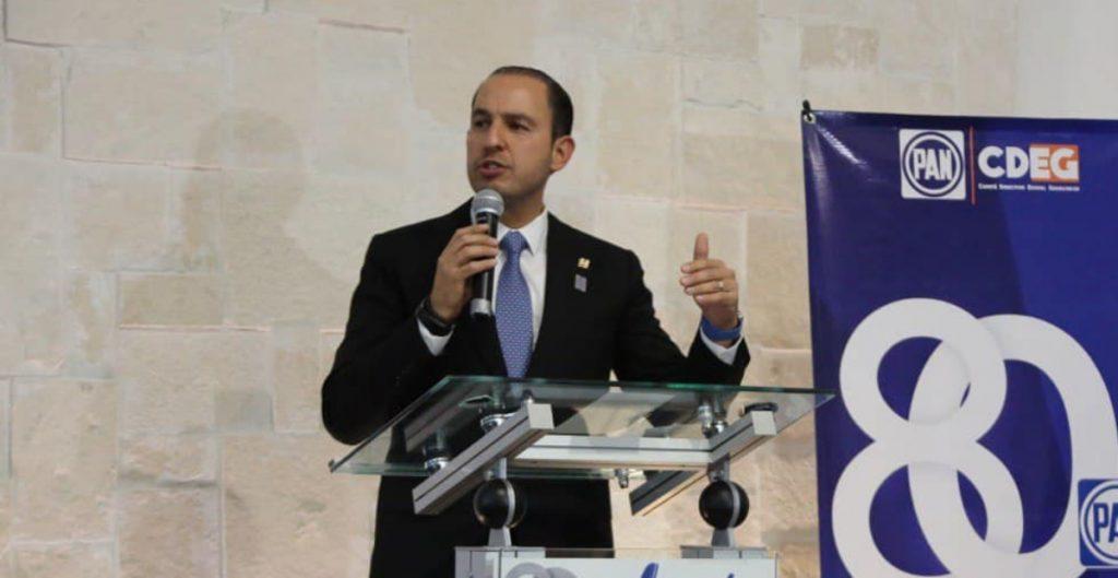 Marko Cortés, dirigente del PAN