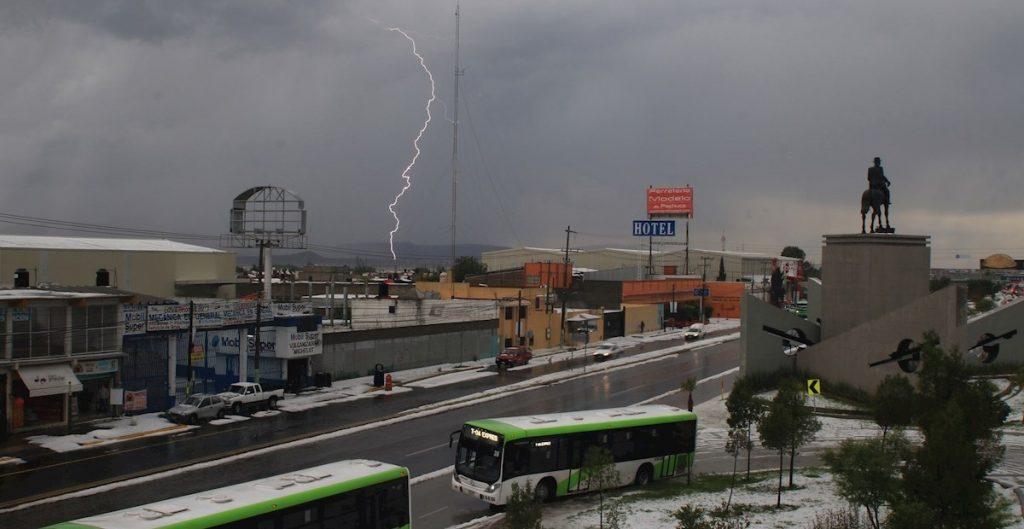 "Lluvias fuertes de ""Cristina"" en Hidalgo"