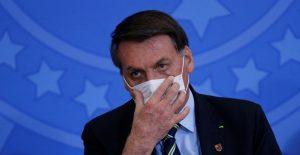 Bolsonaro, pese a tener coronavirus, exhorta a reabrir la economía de Brasil