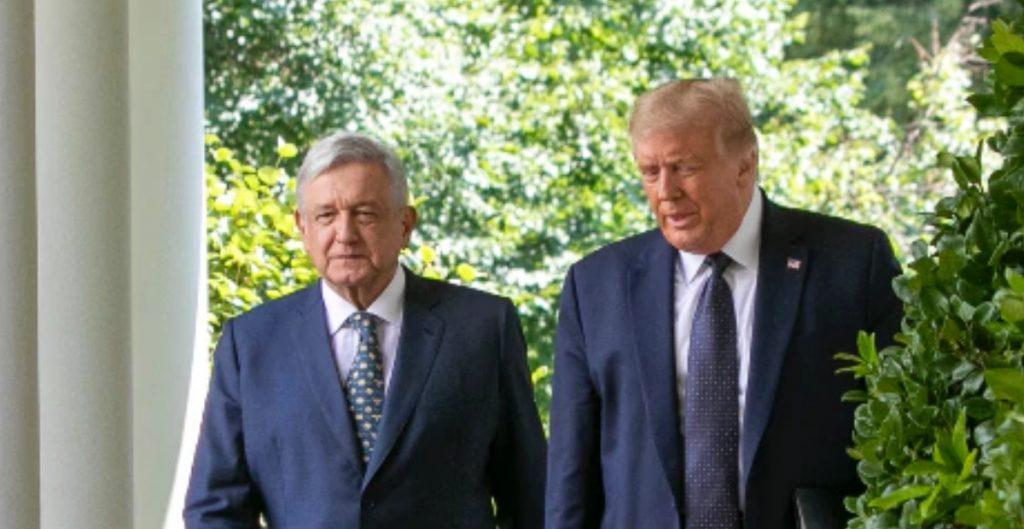 """Trump habla de que México pagará el muro porque hay elecciones en EU y """"brotan las pasiones"""": AMLO"""