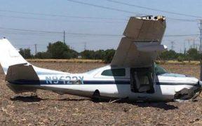 desplome de avioneta en Reynosa