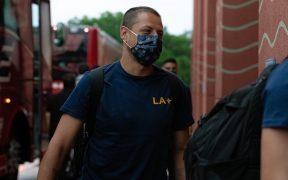 Chicharito Hernández dijo sentirse seguro en Orlando, aunque su decisión no fue sencilla. (Foto: LA Galaxy)