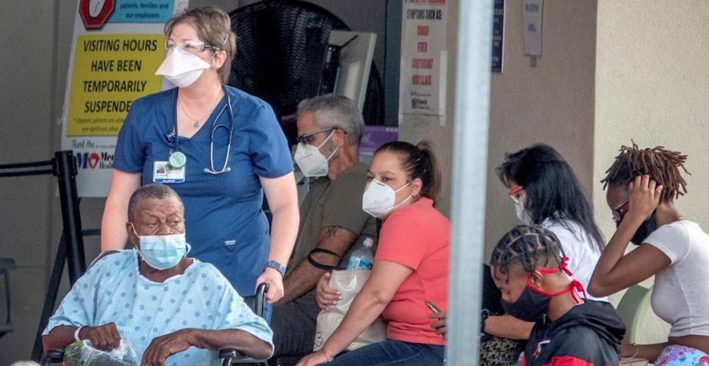 Pacientes con Covid en EU