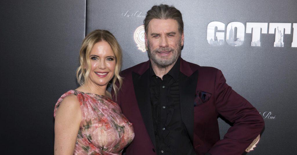 Kelly Preston y John Travolta. Foto: AP