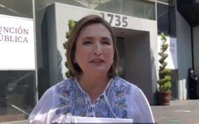 Xóchitl Gálvez, senadora panista