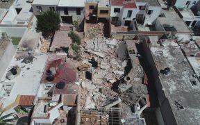 Casas dañadas