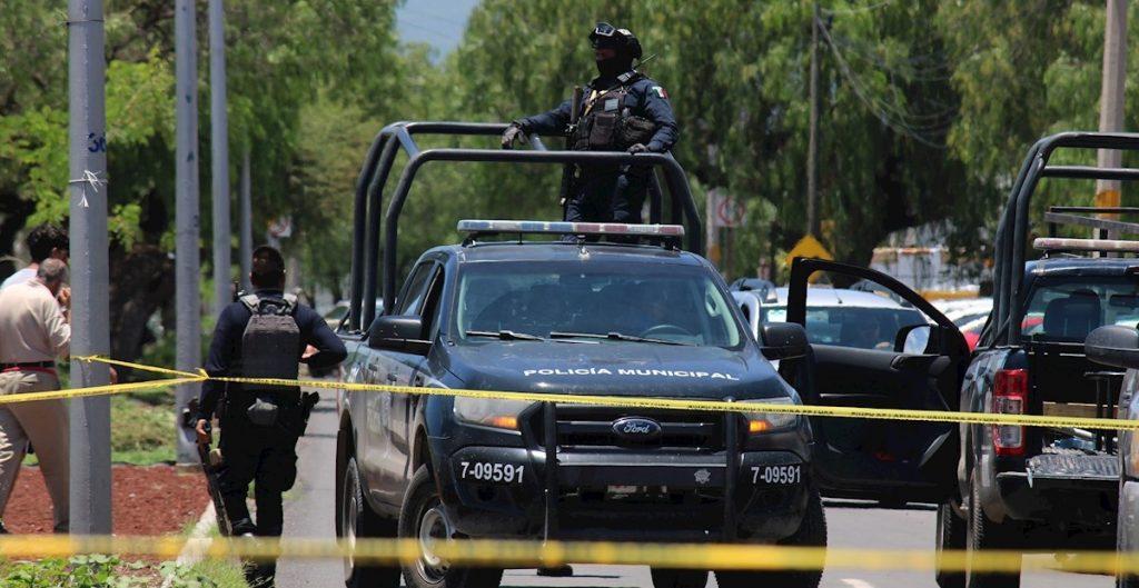 Policía Municipal de Celaya. Foto: EFE