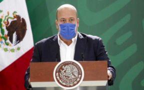El gobernador de Jalisco, Enrique Alfaro. Foto: Gobierno de México