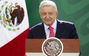 El presidente durante la conferencia en Jalisco. Foto: Gobierno de México