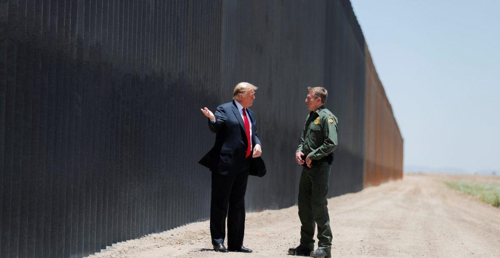 Trump visitará la frontera con México junto al gobernador de Texas