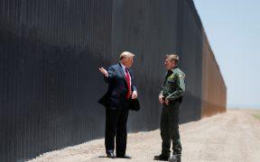 """Trump asegura que el muro evita que el """"problema de Covid de México"""" llegue a EU"""
