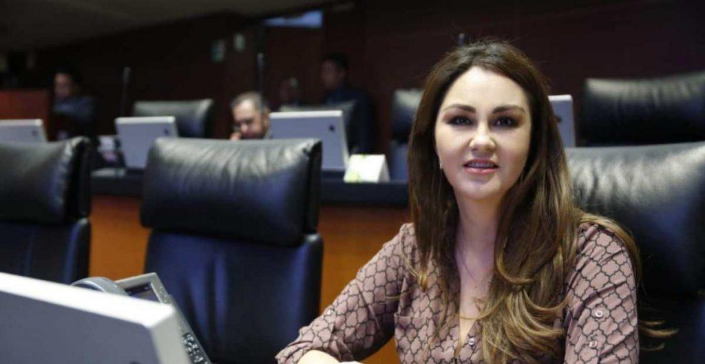 Geovanna Bañuelos, senadora del PT