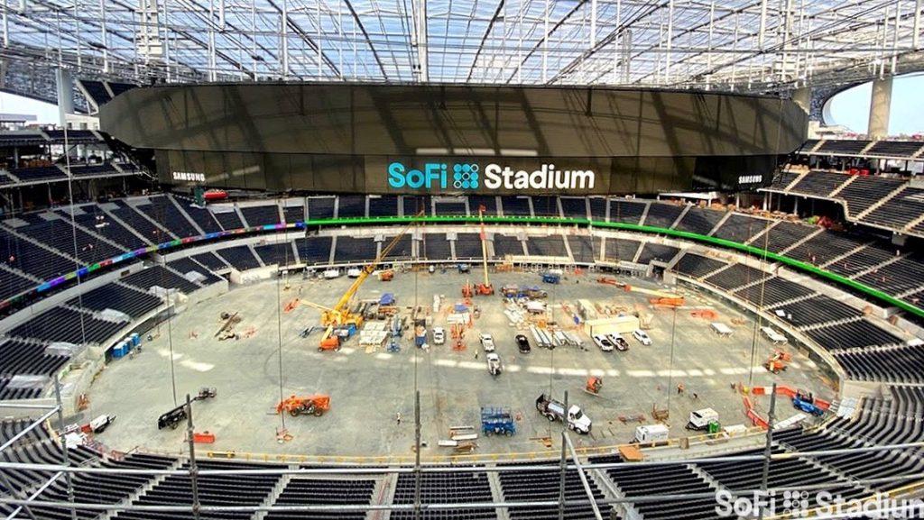 El estadio SoFi será la casa de los Rams y los Chargers de Los Ángeles.