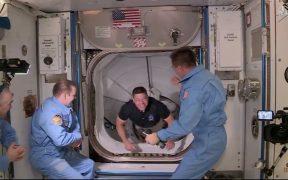 Astronautas de misión de la NASA y SpaceX