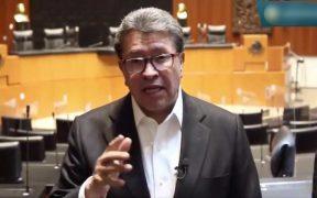 Ricardo Monreal, senador de Morena