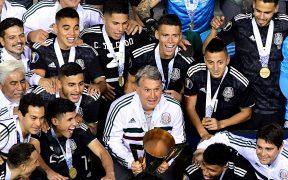 Martino ganó la Copa Oro con el Tri en 2019. (Foto: Mexsport).