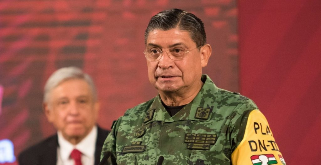 Luis Sandoval, titular de la Sedena, informa sobre el CJNG