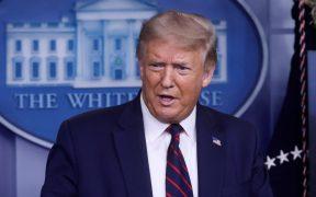 Usen un cubrebocas, les guste o no, dice Trump