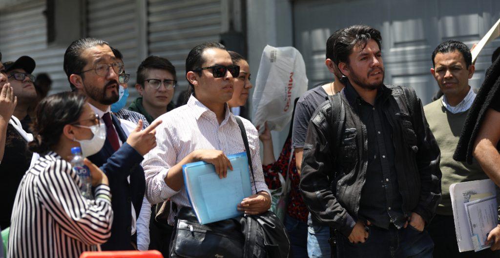 INEGI informó que bajó la tasa de desempleo en México.