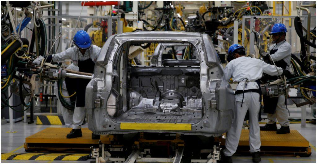 Producción de autos en México