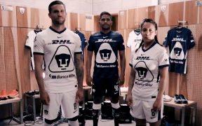 Pumas presentó sus nuevos uniformes en redes sociales.